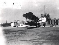 Armstrong Whitworth Argosy II, City of Edinburgh, of Imperial Airways at Croydon Airport. Image courtesy of NAL/RAeS